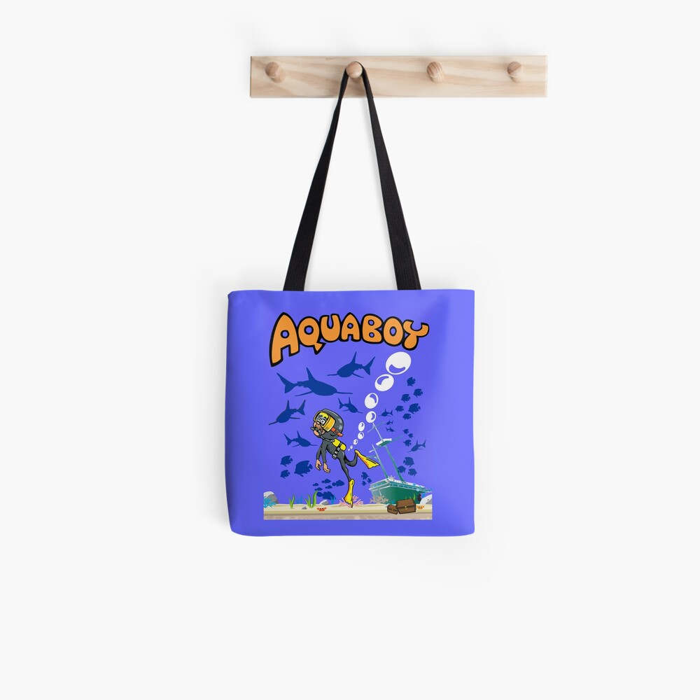 Aquaboy - Tiefblaues Meeresabenteuer Tote Bag