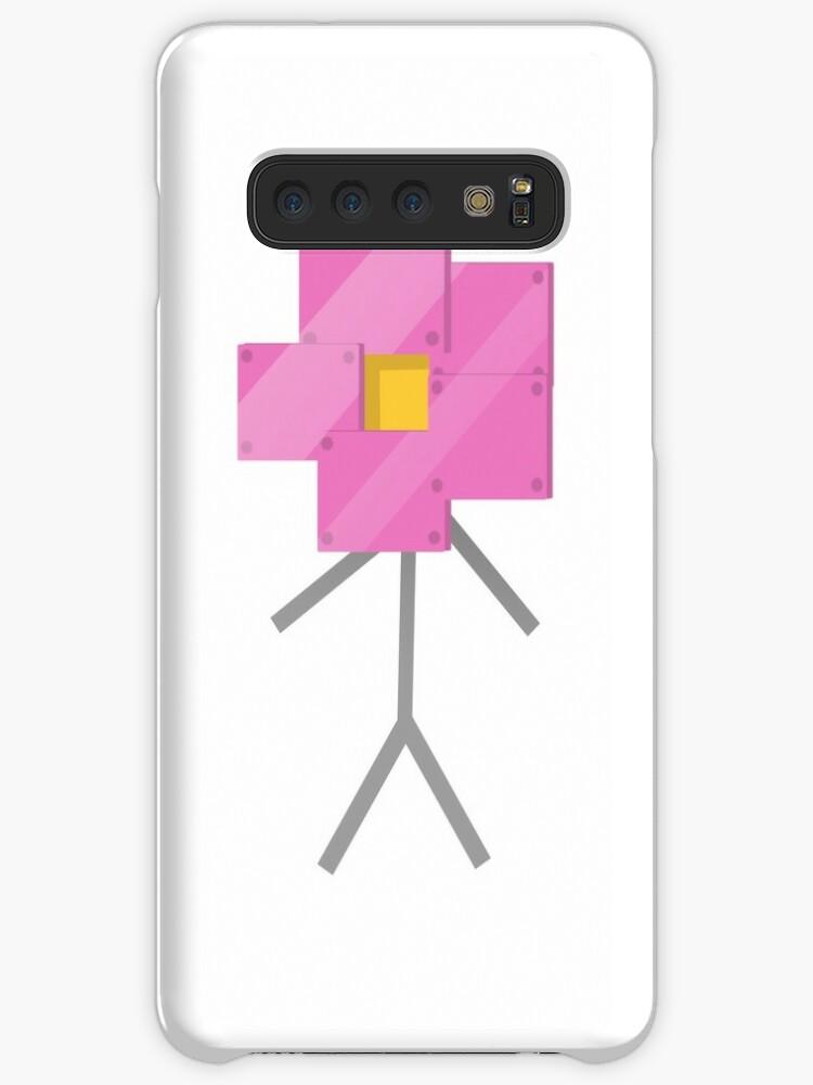 'Robot Flower' Case/Skin for Samsung Galaxy by nininiino
