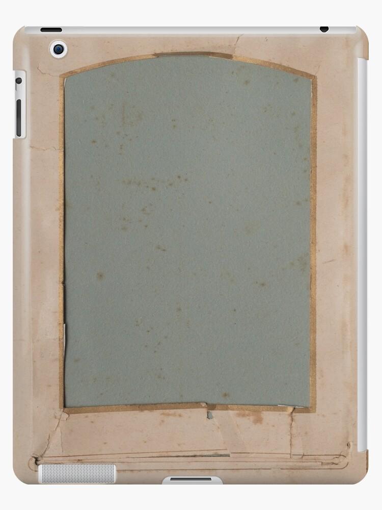 Vintage Photo Album Page Template 4 Ipad Case Skin By Ken47