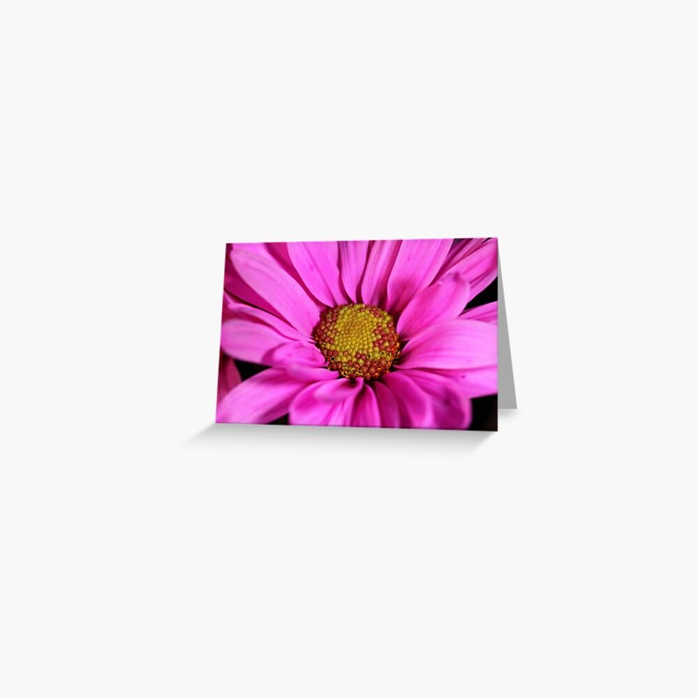 Schön in pink Grußkarte