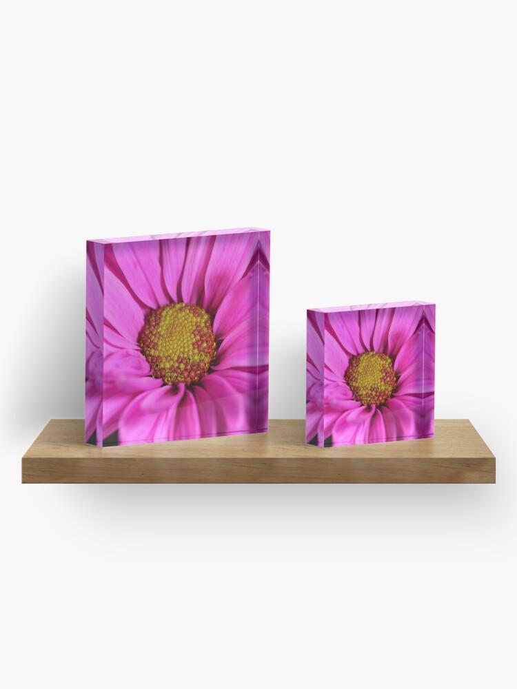 Alternative Ansicht von Schön in pink Acrylblock