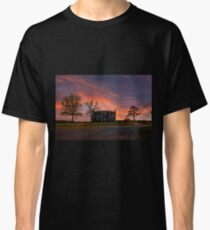 Old House At Sunset Classic T-Shirt