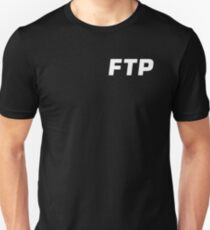 ALL OVER FUCK THE POPULATION FTP (ALL ENABLED) Unisex T-Shirt