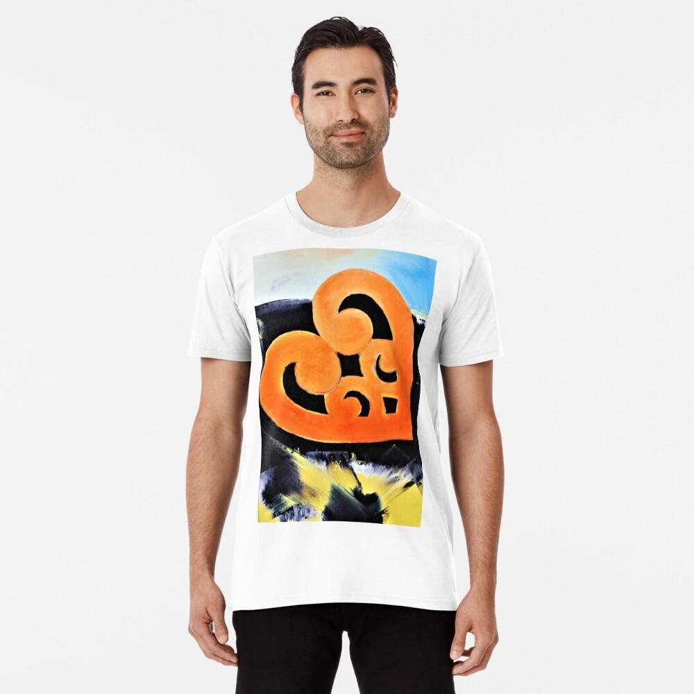 My Abstract Heart Men's Premium T-Shirt Front