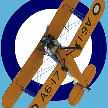 Pacific WW2 RAAF Roundel Avro Cadet VH-AGH 2010 by muz2142
