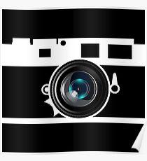 Camera Lens Poster
