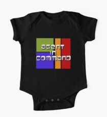I am Agent in Command  One Piece - Short Sleeve