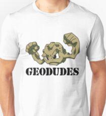 Geodude (black text) Unisex T-Shirt