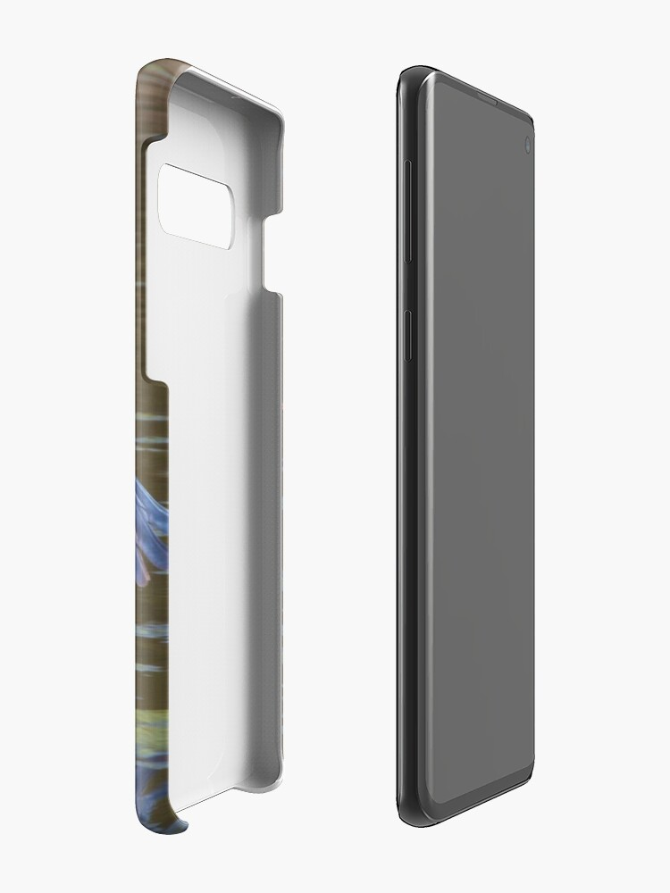 Alternate view of A Grey Heron (Ardea cinerea) in flight. Case & Skin for Samsung Galaxy