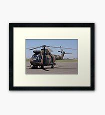 Sud Aviation Aerospatiale SA-330H Puma Helicopter Framed Print
