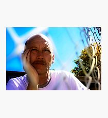 David C - Trapped In Thought - Light Colour Photographic Print