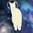 Alpaca in space by GamerCrafting