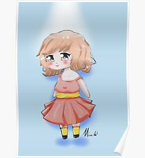 Cute Chibi Girl 2 Poster