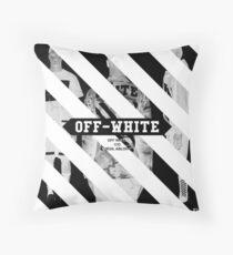 Off White Throw Pillow