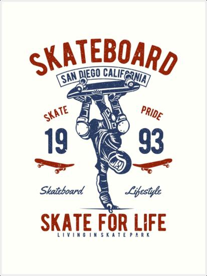 Skateboard by romeotees