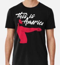 Das ist Amerika! Männer Premium T-Shirts