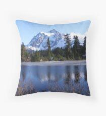 Mount Shuksan Throw Pillow