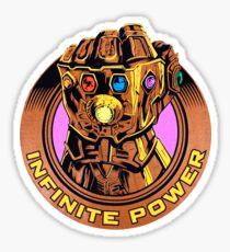 Infinity-Handschuh Sticker