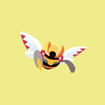Ninjask - 3rd Gen by Missajrolls