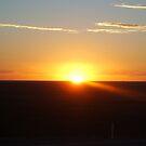 2009 Mundi Mundi Sunset by Topher Webb