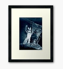 hatbox Framed Print