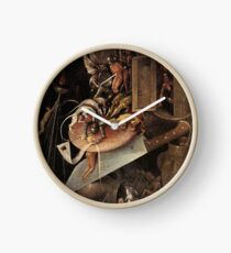 Monsters eating a Knight by Hieronymus Bosch Clock