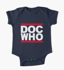 DOC WHO Short Sleeve Baby One-Piece