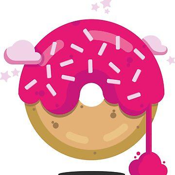donut by victoriaArt