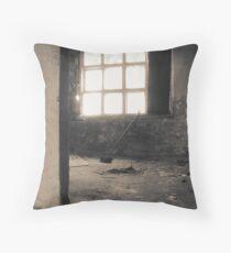 Quiet rooms Throw Pillow