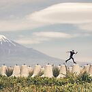 Mt. Fuji Parkour - Jason Paul  by ediphotoeye