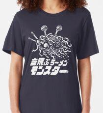 The Flying Ramen Monster Slim Fit T-Shirt