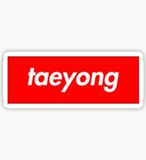 Pegatina Taeyong