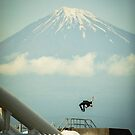 Mt. Fuji Back Flip by ediphotoeye