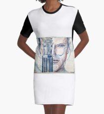 scavenger Graphic T-Shirt Dress