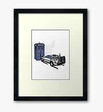 Back to the Whoture Framed Print