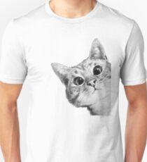 sneaky cat Unisex T-Shirt