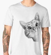 hinterhältige Katze Männer Premium T-Shirts