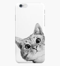 sneaky cat iPhone 6s Case