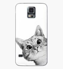 Funda/vinilo para Samsung Galaxy gato furtivo