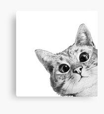 Lienzo gato furtivo