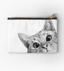 sneaky cat Studio Pouch