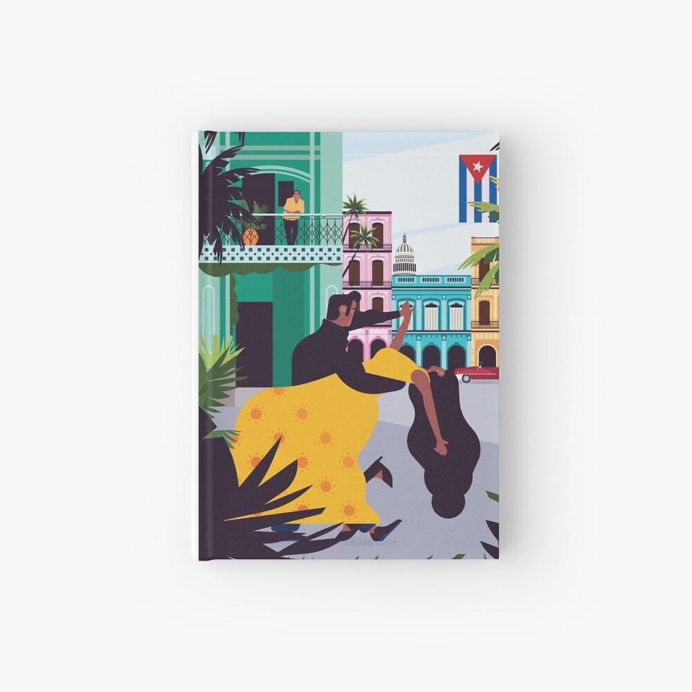 Havana ft. Salsa Dancers Hardcover Journal