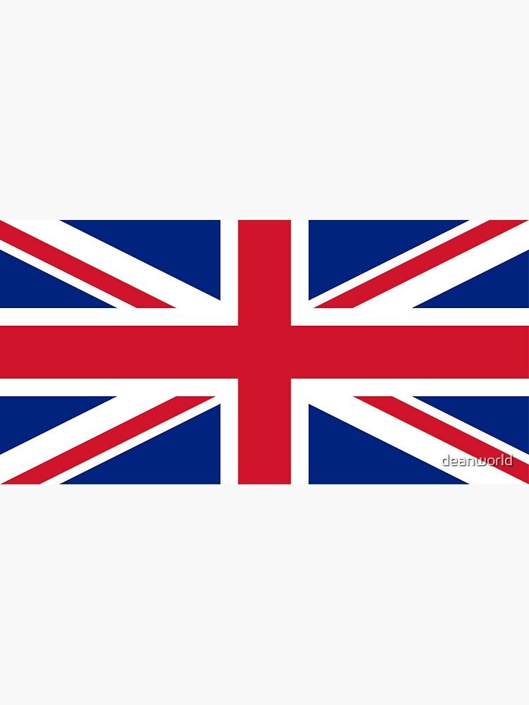 Großbritannien Flagge - Union Jack T-Shirt von deanworld