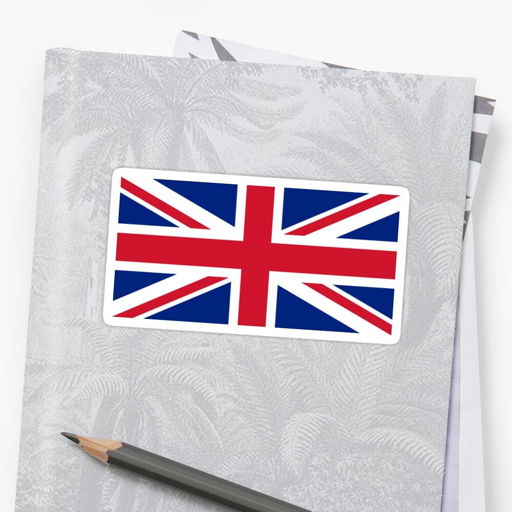 Großbritannien Flagge - Union Jack T-Shirt Sticker