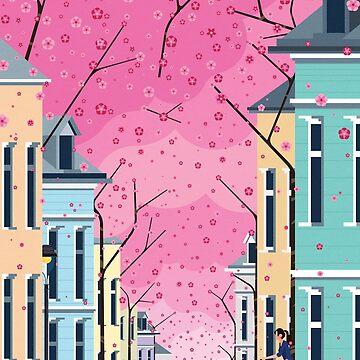 Altstadt Bonn, ft Cherry Blossom by jamesboast