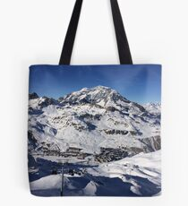 Snow scenery  Tote Bag