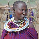 Maasai Woman, Tanzania by Adrian Paul