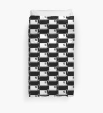 Dtone (black on white version) Duvet Cover