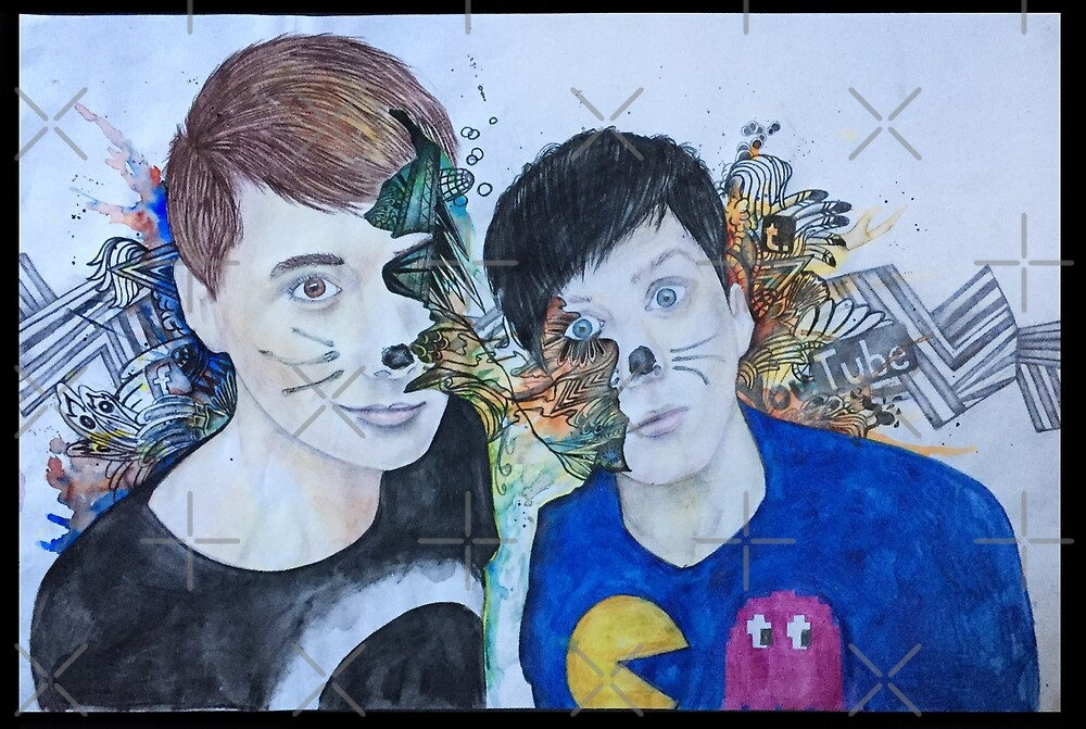 Dan & Phil -Fusion! by ascarecrowswit