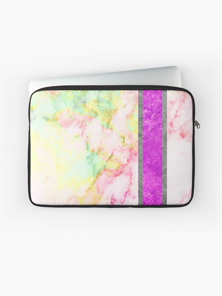 Aesthetic Marble Wallpaper Laptop Sleeve